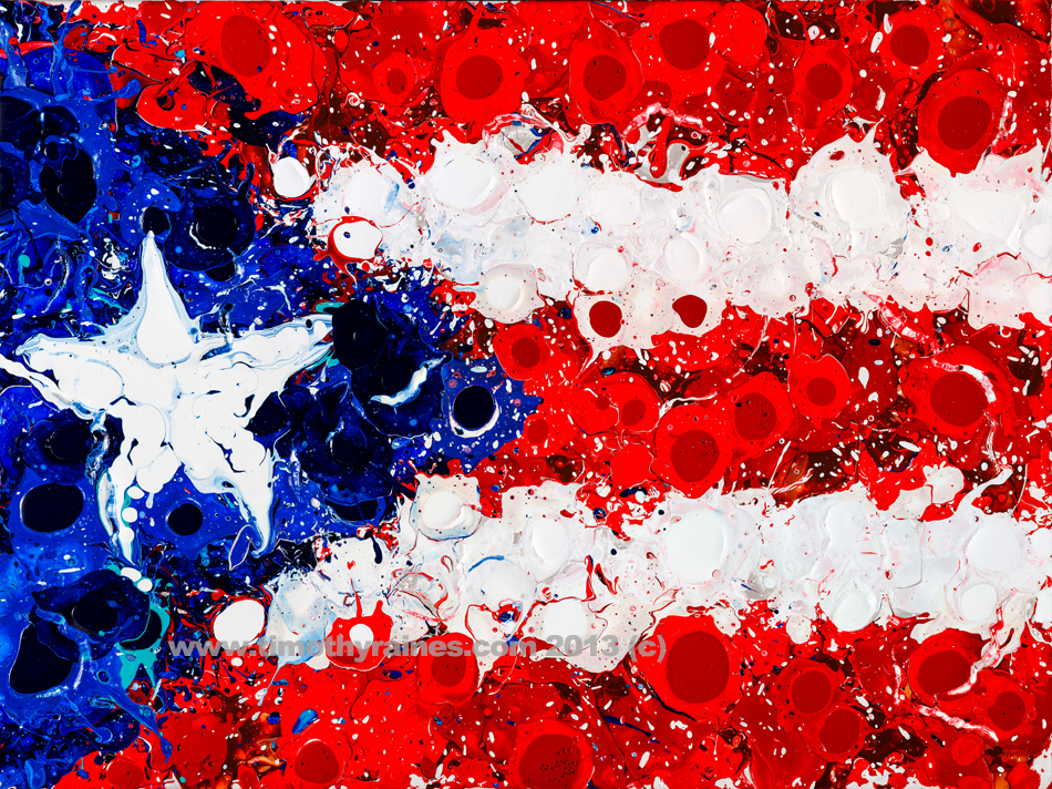 """Puerto Rico"" 12""H x 14""W / Timothy Raines © 2013 / Sold"