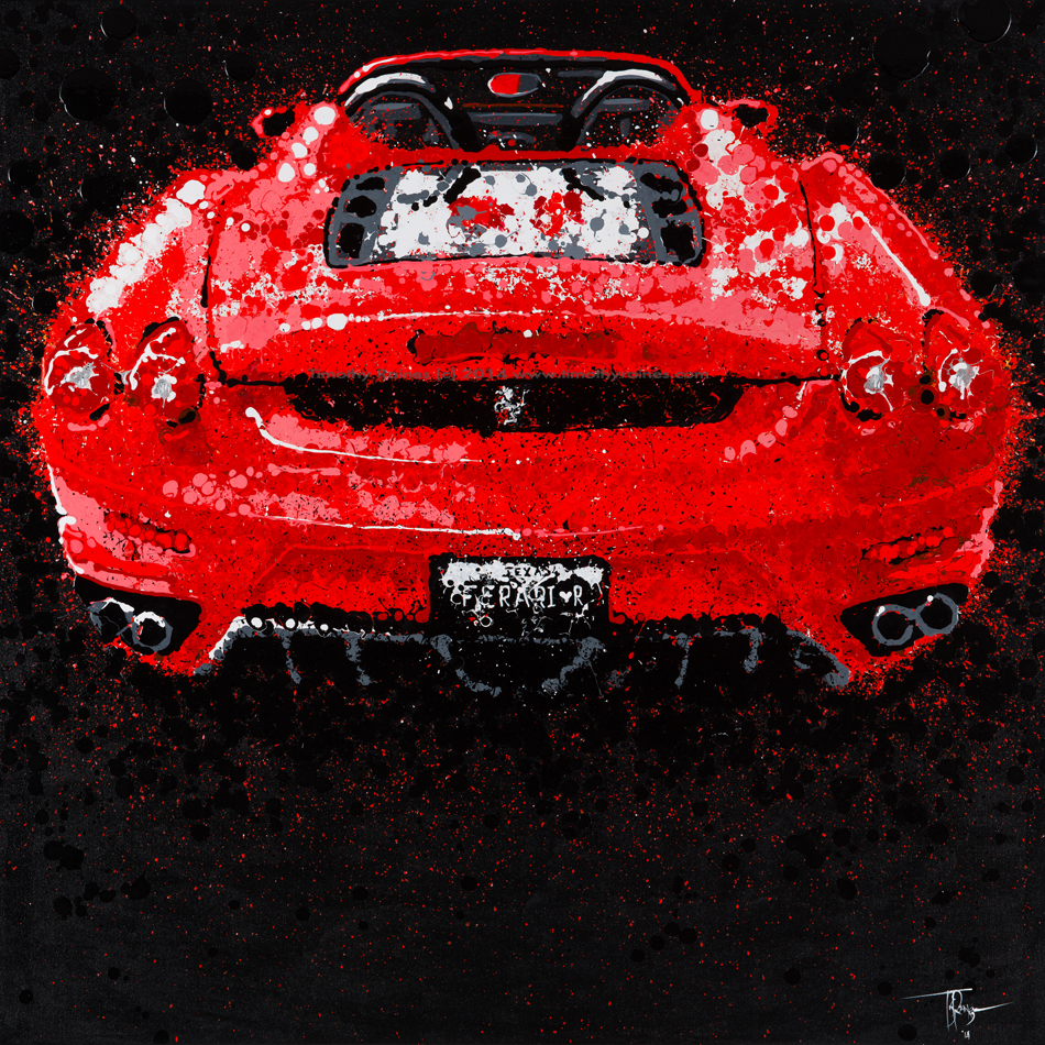on ferrari print home wayfair pdp graphic east canvas art ca decor pillows urban